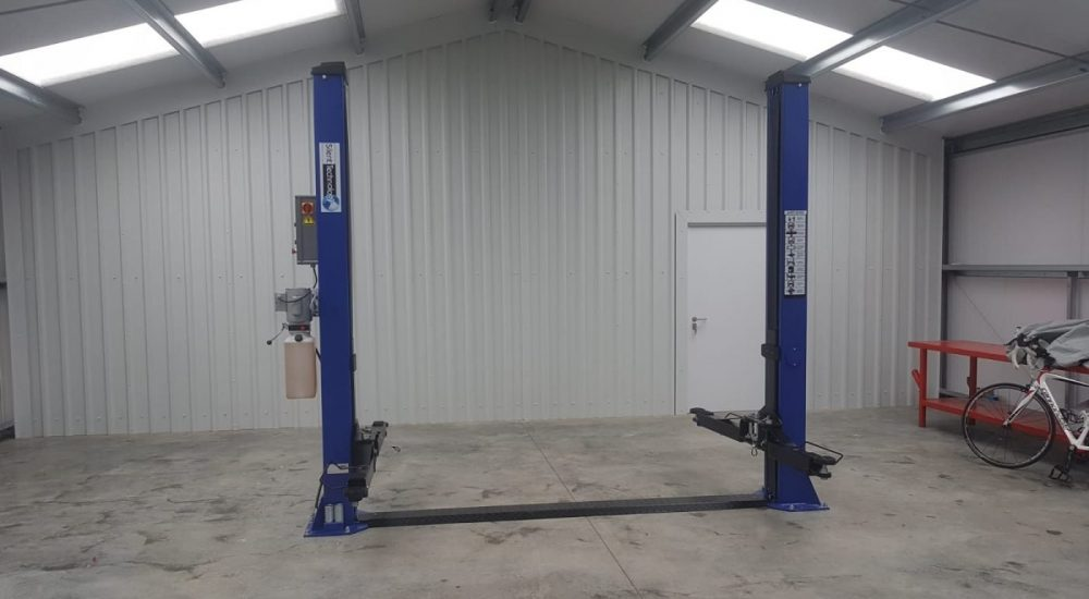 2post garage lift